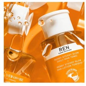 REN Ready Steady Glow Daily AHA Tonic NEW
